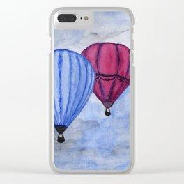 La Fenêtre: Air Balloons Clear iPhone Case