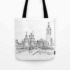 Plaza de Cervantes Tote Bag