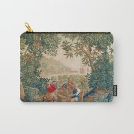 Verdure 18th Century French Tapestry Print Carry-All Pouch