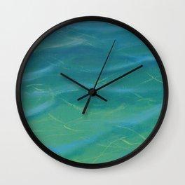 Water Test I Wall Clock