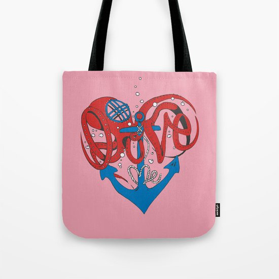 Deeply in Love Tote Bag