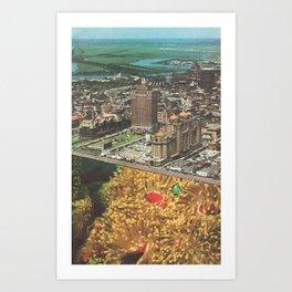 Ville des Rêves Art Print