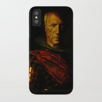 picasso iPhone & iPod Cases featuring King Picasso by Joe Ganech