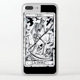 La Mort Card Clear iPhone Case