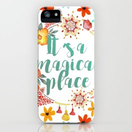 Tahiti. It's a Magical Place iPhone Case