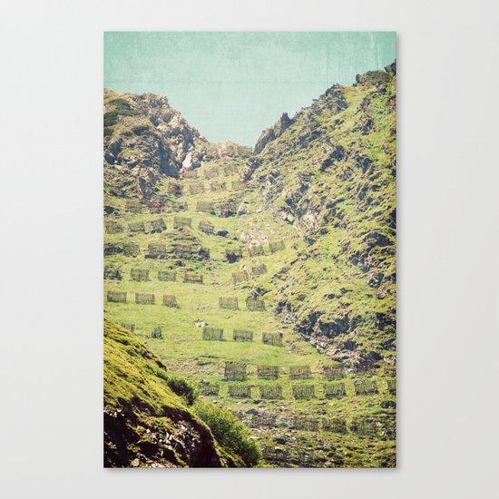 2000 m high Canvas Print
