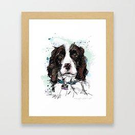 Bouvier Framed Art Print