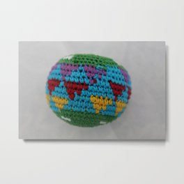 Colored fabric Metal Print