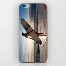 Surfer Girl iPhone & iPod Skin