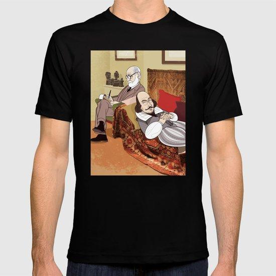 Freud analysing Shakespeare T-shirt