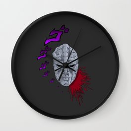 JoJo's Bizarre Adventure Stone Mask Wall Clock