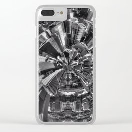 Chicago little planet Clear iPhone Case