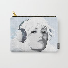 Headphone Girl v2 Carry-All Pouch