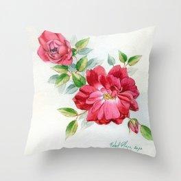 Rose5 Throw Pillow