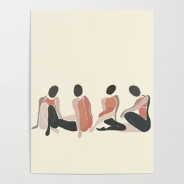 Woman Forms Poster