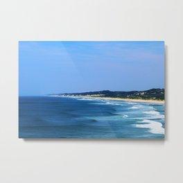 Mozambique: Endless Beach Metal Print