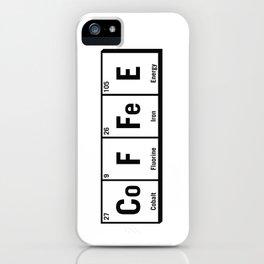 c.o.f.f.e.e iPhone Case