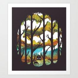 A Magical Place Art Print