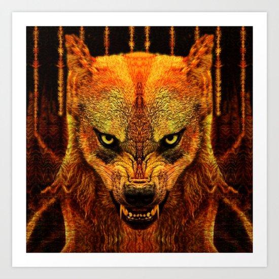 Canis Lupus I Art Print