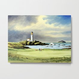 Turnberry Golf Course 10th Green Metal Print