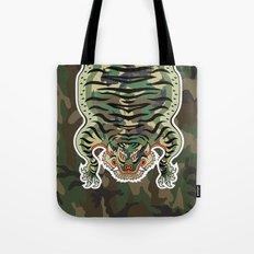 TIBETAN TIGER CAMOUFLAGE Tote Bag