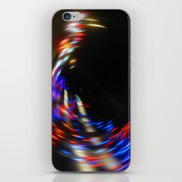 Holiday Spins I iPhone Skin