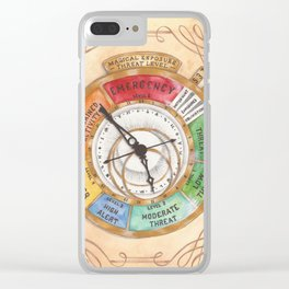 Magical Exposure Threat Level Clear iPhone Case