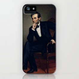 President Abraham Lincoln Painting iPhone Case