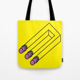 Illusion of Mistakes Tote Bag