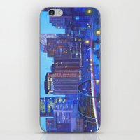 denver iPhone & iPod Skins featuring Denver Skyline by Jeannette Stutzman