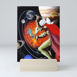 Magic of life #collage Mini Art Print
