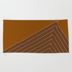Cocoa Range Beach Towel
