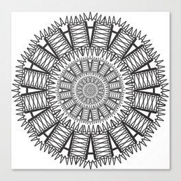 Futura Condensed 'A' Canvas Print