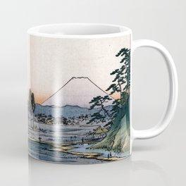 The Teahouse with the View of Mt. Fuji at Zōshigaya Coffee Mug
