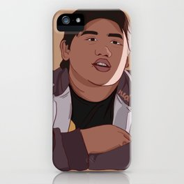 Guy In The Chair iPhone Case