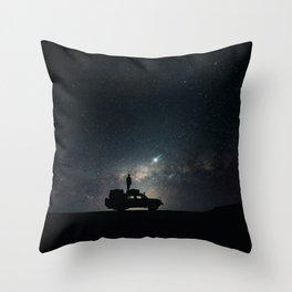 Roadtrip To The Stars Throw Pillow