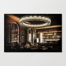 Dining in Style Canvas Print
