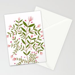 Mirah Floral - Pink Palette Stationery Cards