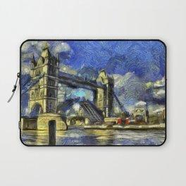 Tower Bridge and the Waverley Art Laptop Sleeve
