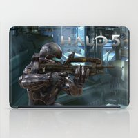 guardians iPad Cases featuring Halo5 Guardians by giftstore2u
