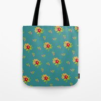 hawaiian Tote Bags featuring Hawaiian by Beautiful Revelry