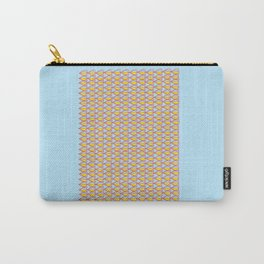 Blue August Carry-All Pouch