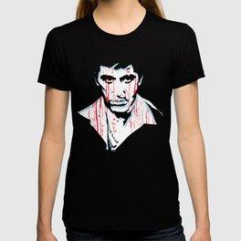 Scarface movie portrait T-shirt