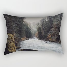 Foggy with a chance of rain Rectangular Pillow