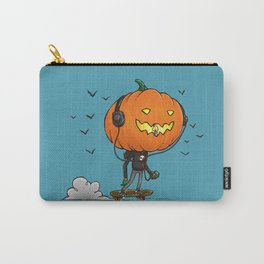 The Skater Pumpkin Carry-All Pouch