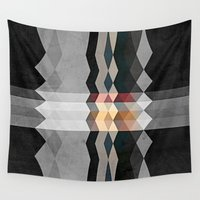 grunge Wall Tapestries featuring Grunge E5 by thinschi