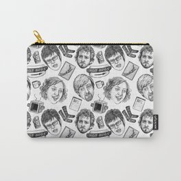 Flight of the Conchords Pattern Carry-All Pouch