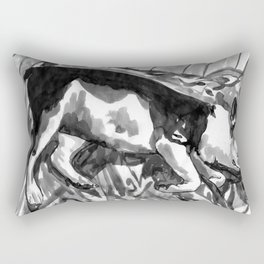 5 of the 12 Days of Sleepmas Rectangular Pillow