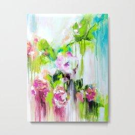 Color Me Pretty Orchids Metal Print