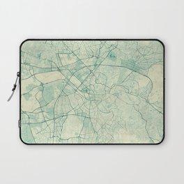 Ankara  Map Blue Vintage Laptop Sleeve